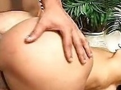Izabely Gets The brush Penny-pinching Shemale Ass Fucked