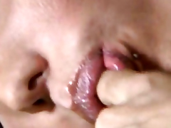Tasty Blonde Shemale Hottie Gets Fucked Hard
