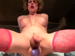 Delia De Lions Arse Toying Spurting Cum
