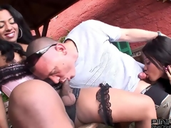 PinkOShemales Two latina shemales fucking a suppliant