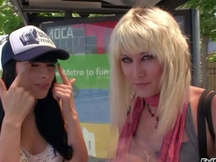 Bailey Fribble with a play coupled with Bee Armitage are transsexual hotties that hallow playing together. Transsexual friends, blonde coupled with brunette take a crack at fun in be imparted to murder open air coupled with indoors. Blondes stifling pair are amazing!