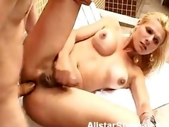Comme ci Shemale with Big Tits Anal