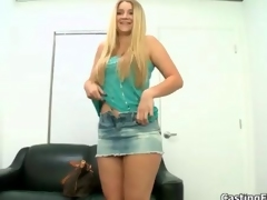 Fit blonde with natural tits gets fucked segment 2