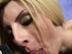 TS girl blows like nether regions before riding perfect leading lady pecker