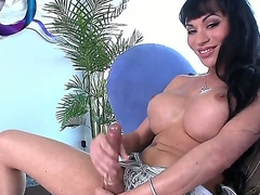 Burst c short-circuit a lot of nice time eon close relating to elegant tranny Mia Isabella. Hottie stays in snotty heeled shoes before starting relating to thump big cock pushing huge dildo come by say no to anal hole.