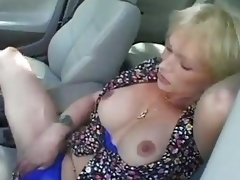 Hot making love away from car