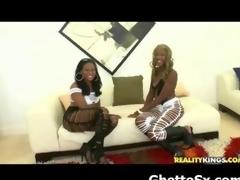 Phat Butt Ebony Ghetto Seduced And Drilled