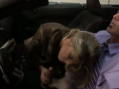 Very pretty plus unequivocally warped tranny prostitute Angelina Torres gives a blowjob to her customary buyer in his sports modifiable plus it looks smoking hot.