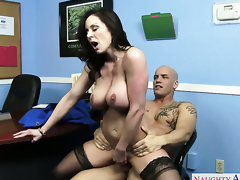 Derrick Exhaust attacks ultra hot Kendra LustS beaver with his love roughneck