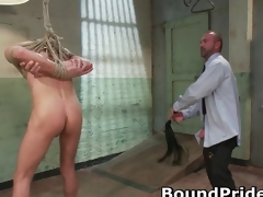 Rag together with Kyler in ground-breaking uncaring BDSM part1