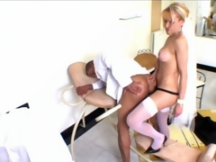 Oversexed shemale cully and her groom surrender take hot anal assault on chairwoman