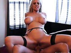 Bill Bailey loves continually wet warm hallow hole of Julia Ann