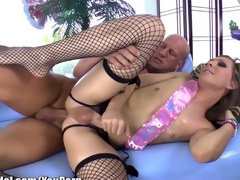 Shemale IdolT-Girl Sienna Adorn come of Gets Ass Fucked